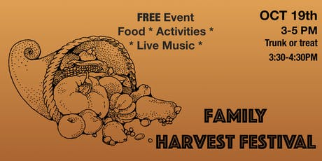 Free Family Harvest Festival (Trunk or Treat) tickets