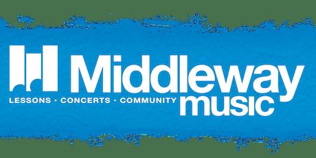 Middleway Music Studio Concert XVIII tickets
