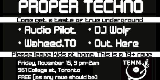 Proper Techno