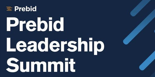 Prebid Meetup and Leadership Summit: San Francisco - October 24, 2019