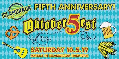 IBC's 5th Anniversary Oktoberfest in Islamorada tickets