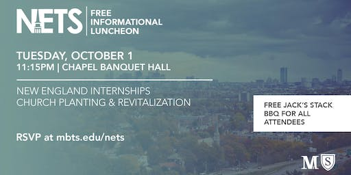 The NETS Center for Church Planting & Revitalization: Informational Luncheon