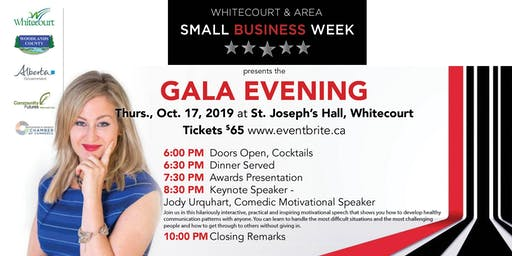 Small Business Week - Gala Evening, Whitecourt
