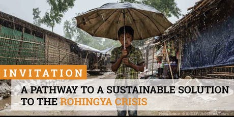 A Pathway to a Sustainable Solution to the Rohingya Crisis tickets