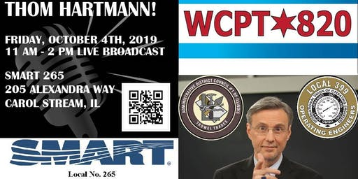 Labor Live with Thom Hartmann!