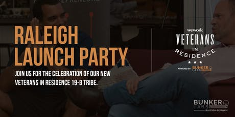 Raleigh Launch Party: Veterans in Residence powered by Bunker Labs tickets