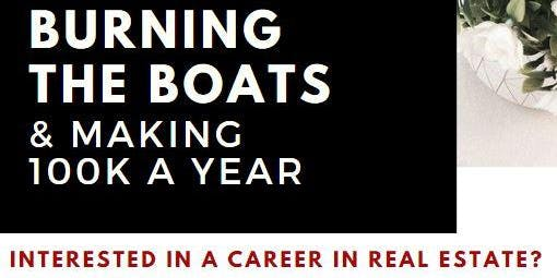 Burning the Boats & Making 100K a Year
