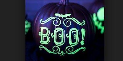 Glowga + Pumpkin Painting
