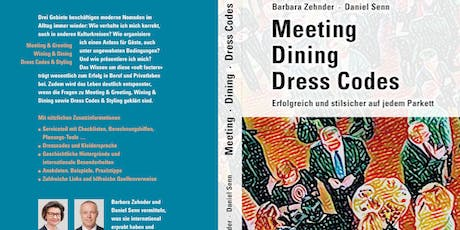 "Buchvernissage  ""Meeting - Dining - Dress Codes"" Tickets"