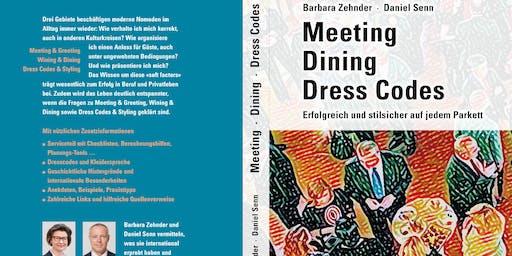 "Buchvernissage  ""Meeting - Dining - Dress Codes"""