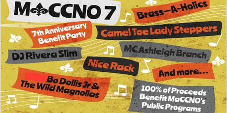 MaCCNO 7th Anniversary: Party with a Purpose! tickets