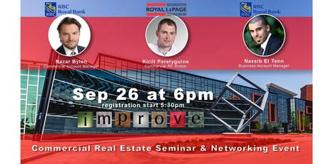 Commercial Real Estate and Financing Seminar and Business Networking Event tickets