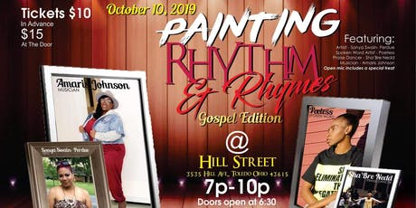 """Gospel Edition"" Painting Rhythm & Rhymes  tickets"