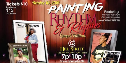 """Gospel Edition"" Painting Rhythm & Rhymes"