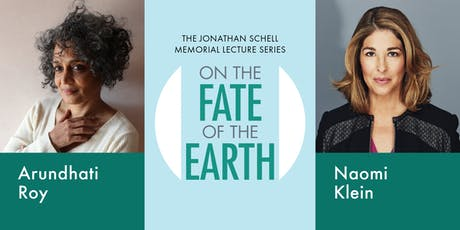 Arundhati Roy with Naomi Klein: on the Fate of the tickets