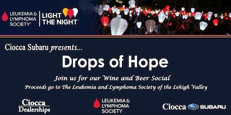 Ciocca Subaru and The Leukemia & Lymphoma Society Wine and Beer Social tickets