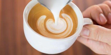 Tour a Tostadora y Taller de Arte Latte Basics boletos