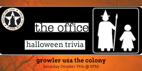 The Office *HALLOWEEN SPECIAL* Trivia at Growler USA The Colony tickets