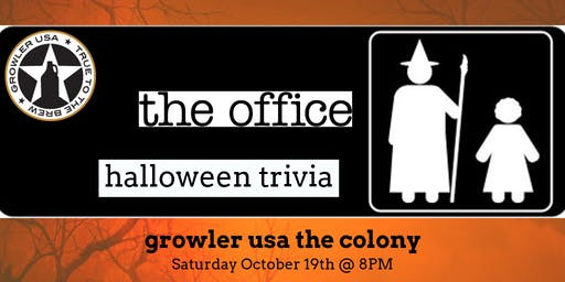 The Office *HALLOWEEN SPECIAL* Trivia at Growler USA The Colony