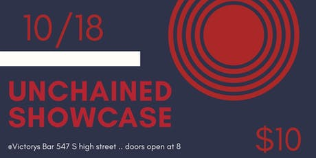 Unchained Hip hop Showcase : October 18th  tickets