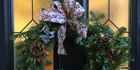 Christmas Wreath-making Workshop (evening) tickets