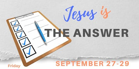 Jesus is the Answer - Fall Gospel Meeting tickets