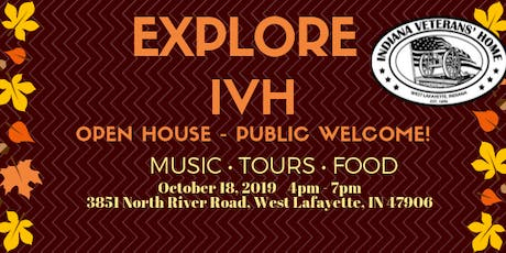 Explore IVH Community Open House tickets