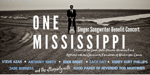 One Mississippi Singer Songwriter Benefit Concert