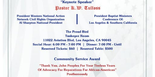 """NATIONAL ASSOCIATION OF EQUAL JUSTICE IN AMERICA (NAEJA)18TH ANNUAL BANQUET - """"JUSTICE IN AMERICA""""A GAL"""