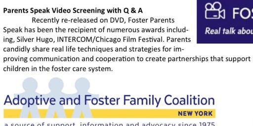 Foster Parents Speakout