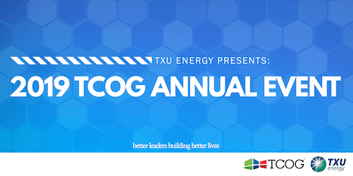 2019 TCOG Annual Event sponsored by TXU Energy