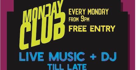 Monday Club tickets