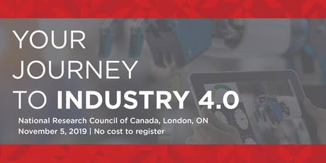 Your Journey to Industry 4.0 tickets