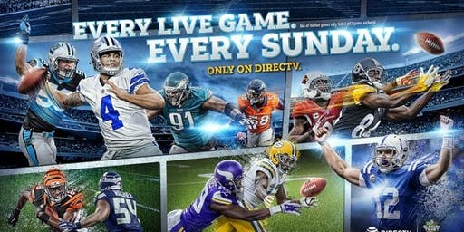 Directv Sunday Ticket -Complimentary Hot dogs & Hamburgers -7 TV Screens!