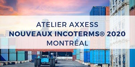 WORKSHOP: New Incoterms® 2020 - Montréal billets