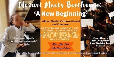 Mozart Meets Beethoven: A New Beginning tickets