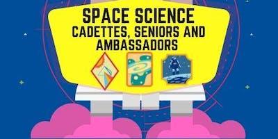 Space Science Badges - Cadette, Senior, Ambassador - Visalia