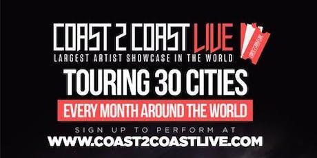 Coast 2 Coast LIVE Artist Showcase Paris, FR - $50K Grand Prize billets