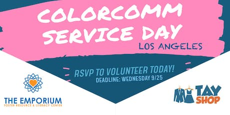 ColorComm LA hosts Service Day at the TAY Shop tickets