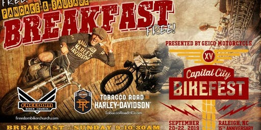 Breakfast at Bikefest