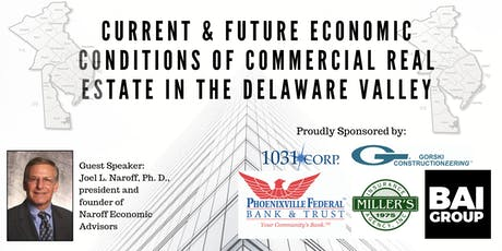 Economic Summit for Commercial Brokers in the Delaware Valley Area tickets
