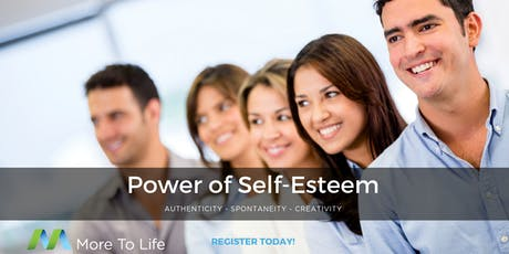 The Power of Self Esteem tickets
