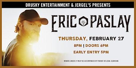 Eric Paslay tickets