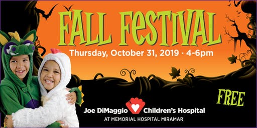 Joe DiMaggio Children's Hospital Fall Festival