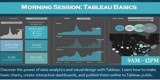 Tableau basics - morning session