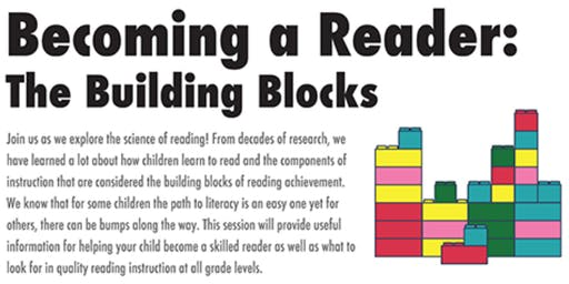 Becoming A Reader: The Building Blocks