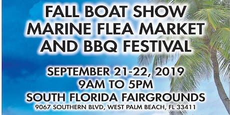 10th Annual Florida Marine Flea Market and BBQ Festival  tickets