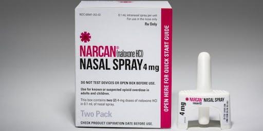 Narcan Training: Clean, Sober, Saved - Gowanda, 6 PM