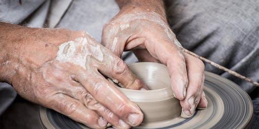 Evening Class — Throwing a Ceramic Pot