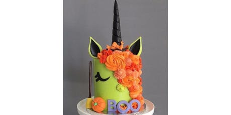Halloween Unicorn Adult cake decorating class tickets